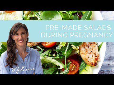 Are pre-made salads during pregnancy safe? | Nourish with Melanie #110