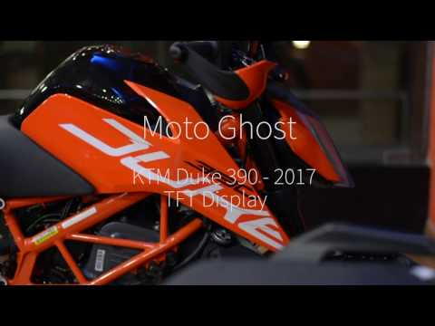 KTM DUKE 390 2017 | TFT Panel Features Explained | Bluetooth Sync
