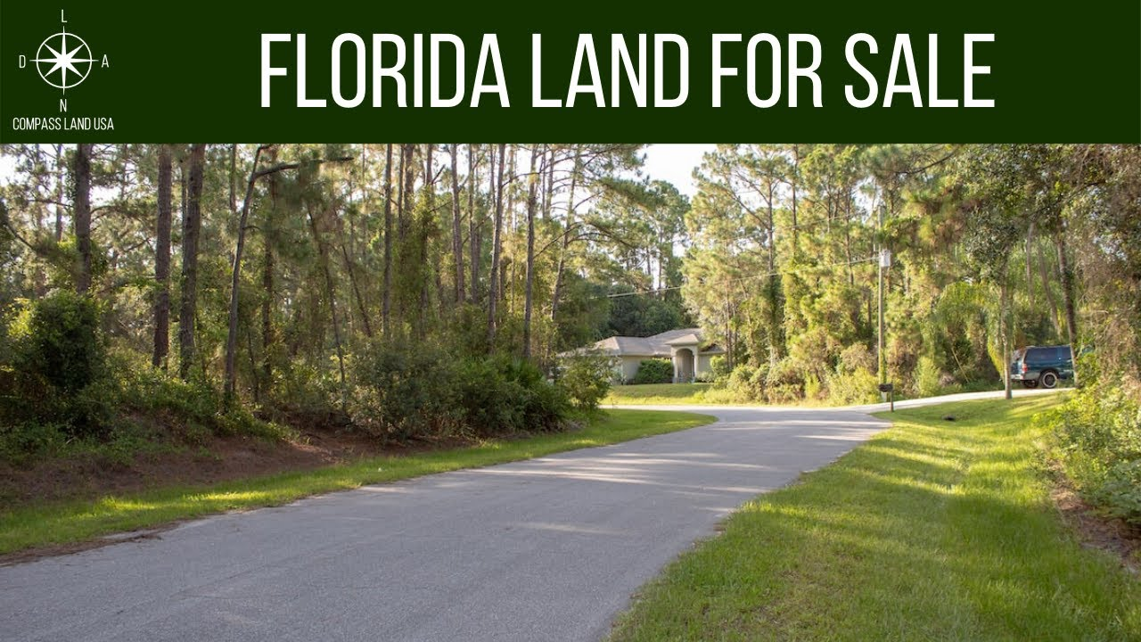 0.46 Acres – With Power and Paved Road! In North Port, Sarasota County FL