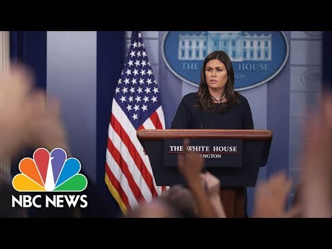 Watch Live: White House Press Briefing - May 17, 2018