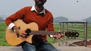 Mere Sohneya | Kabir Singh | guitar By - punit lotia