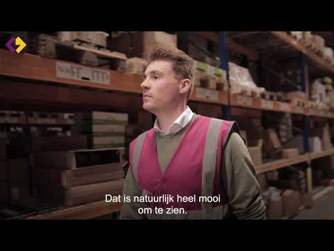 Joris Teurlings - CEVA Logistics - Finalist Jong Logistiek Talent