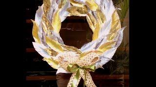 DIY How to make beautiful Autumn Wreath