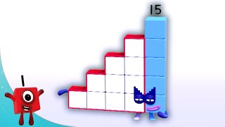 Numberblocks - Eleven to Fifteen! | Learn to Count | Learning Blocks