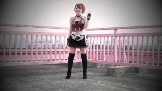 rider girl henshin form pose!