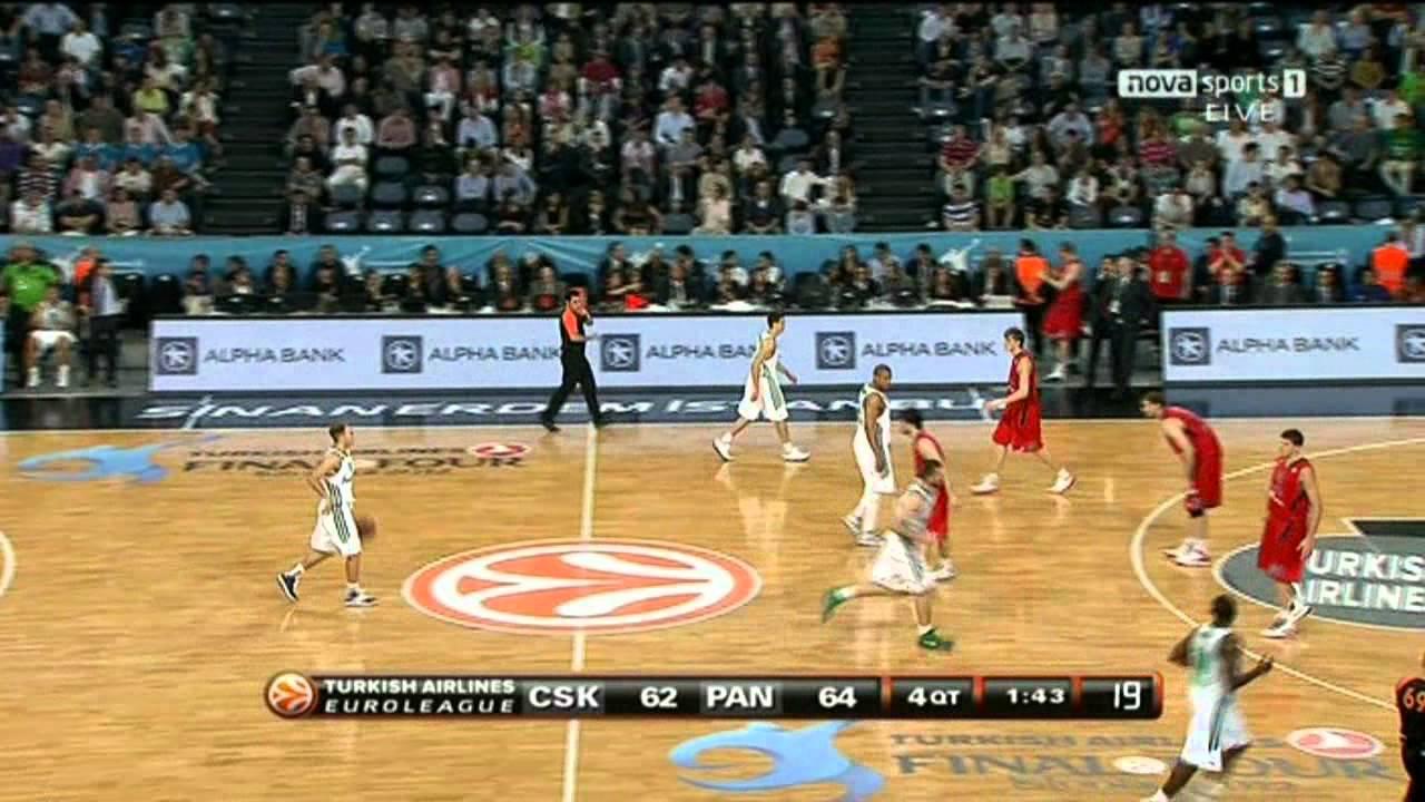 Euroleague Semifinal 2012: CSKA-Panathinaikos