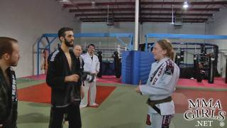 Hillary Williams gets surprised with her blackbelt