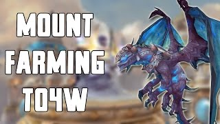 Solo Mount Farming Throne of the Four Winds Walkthrough/Commentary