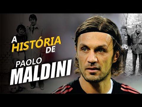 Conheça a HISTÓRIA de PAOLO MALDINI