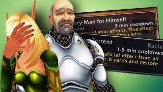 Human and Belf Racials NERFED in World of Warcraft BFA Alpha!