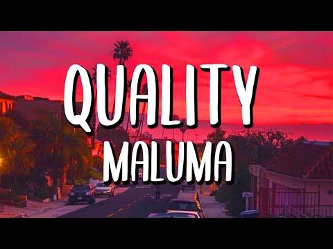 Maluma - Quality (Letra/Lyrics)