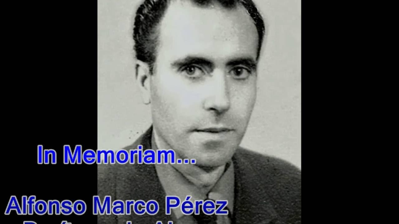 Recordando a mi tío ... Alfonso Marco Pérez - YouTube