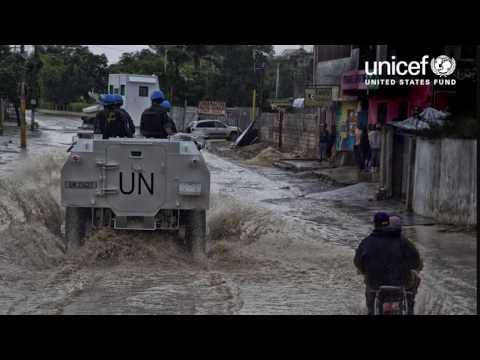 Help Children Endangered by Hurricane Matthew | UNICEF USA