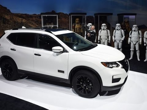 """[Xe Nissan mới] 2017 Nissan Rogue SUV, bán """"chạy"""" nhất trong năm.#269."""