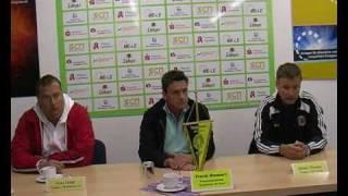 Pressekonferenz Landespokal-Halbfinale: TSV Greif vs. Malchower SV