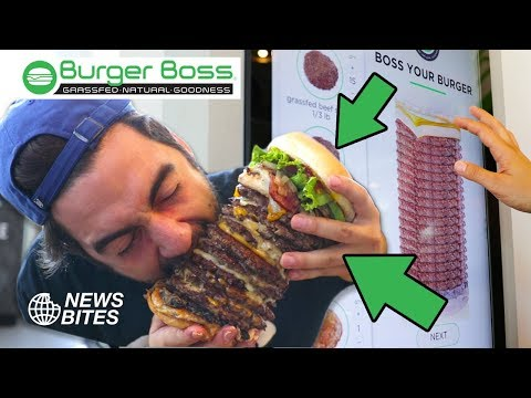 ORDERING 13 PATTIES ON A BURGER! | News Bites