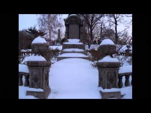 Green-Wood Cemetery Winter Brooklyn  NYC