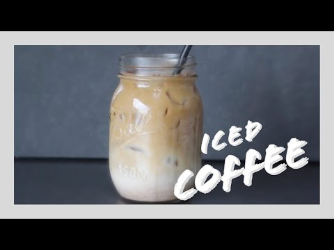Iced Coffee | Healthy & Easy
