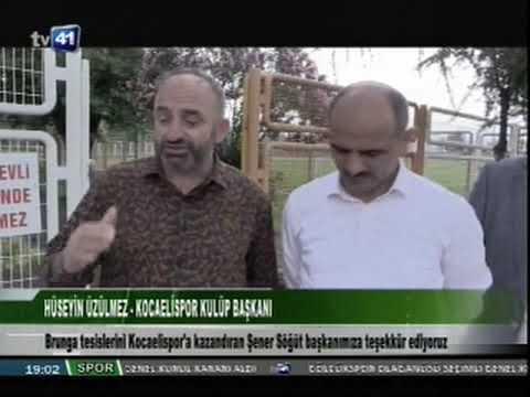 Kocaelispor Başkanı Üzülmez'den Başkan Söğüt'e teşekkür. | Körfez Belediyesi
