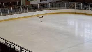 Figure skating Justýna Pešková