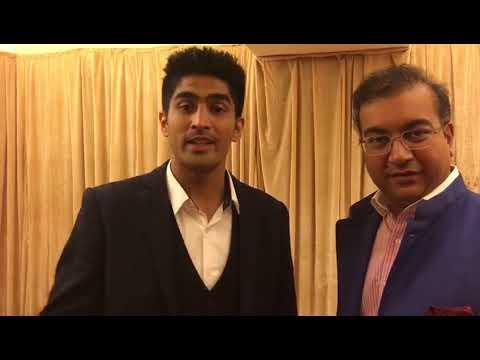 Boxer Vijender Singh appeals people to get their eyes scanned