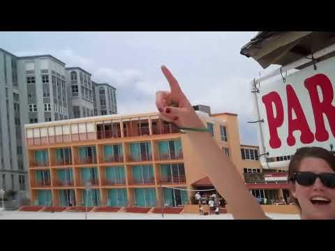 Clearwater Beach, Florida - parasailing, beach, dinner, karaoke