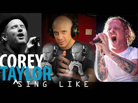 How to Start to Sing Like Corey Taylor (False Cord, Fry, Screams & Melody) NOT for Beginners!