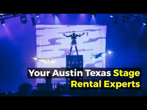 Austin Stage Rental By Roadway Productions - Mobile And Portable Stages