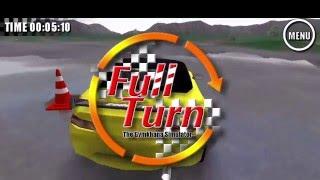 「フルターン! ドリフト&ジムカーナシミュレータ」プロモーションVer3.0