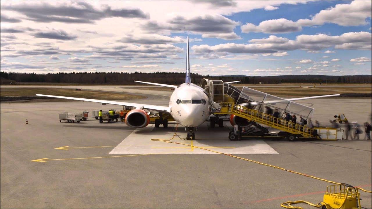 Turn Around Umea Airport