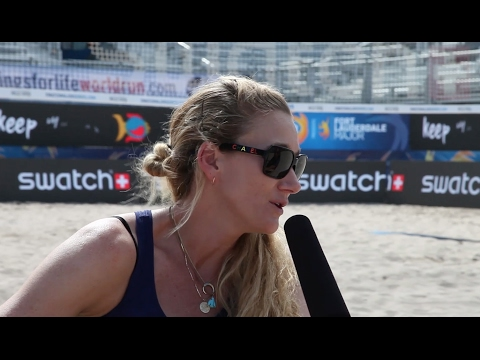 Kerri Walsh Jennings talks family, volleyball and Fort Lauderdale