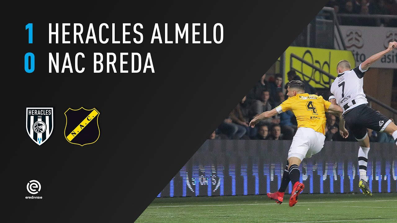 Heracles Almelo - NAC Breda | 06-04-2019 | Samenvatting