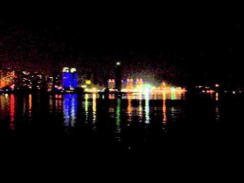 043 City Lights in Dalian, China