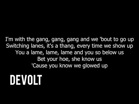 Young Thug - Gang Up ft. Wiz Khalifa, 2 Chainz & PnB Rock (Lyrics)