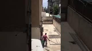 ابن عاق يطرد والدته العجوز ويضربها في بلدة مجد الكروم بفلسطين