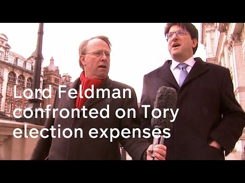 Lord Feldman confronted on Tory election expenses