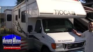 Mr Motorhome 2005 Fleetwood Tioga 31W preowned class c motorhome for sale #1436C Sacramento Ca