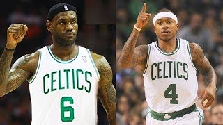 LeBron James Traded To Celtics! LeBron James Joins Celtics With Isaiah Thomas and Gordon Hayward