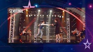 el pase de oro de risto mejide baila para llegar a la final semifinal 4 got talent españa 2018