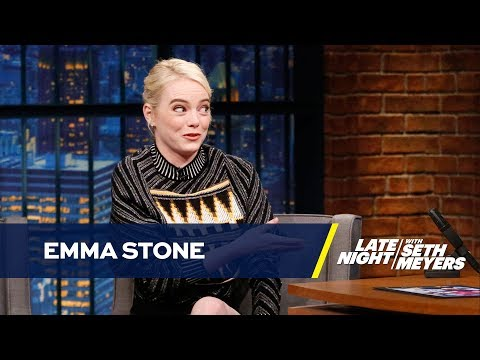 Download Youtube: Emma Stone Gave Her Oscar to Her Mom but Displays Her Spelling Bee Champ Trophy