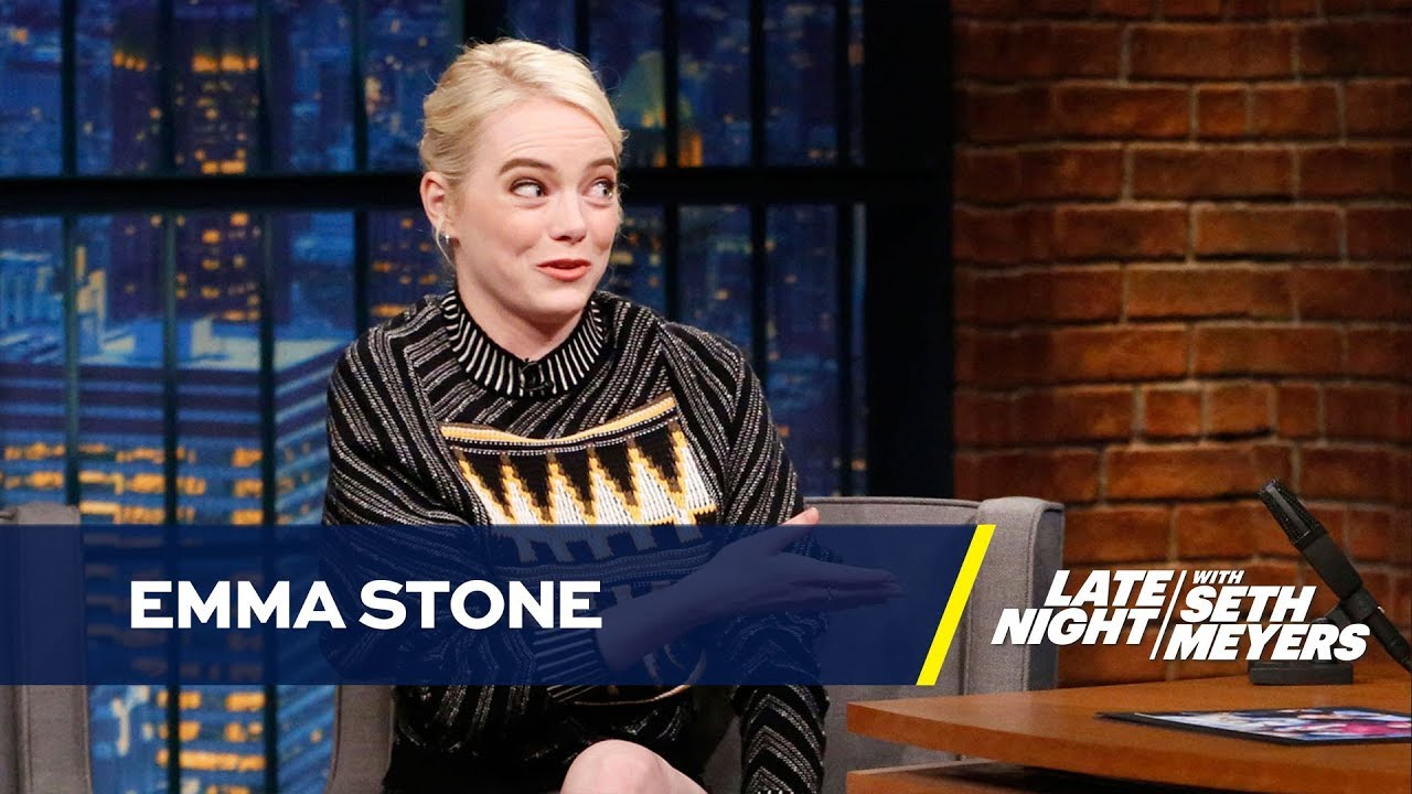 Todays Spelling Lesson Gosling Vs >> Emma Stone Gave Her Oscar To Her Mom But Displays Her Spelling Bee