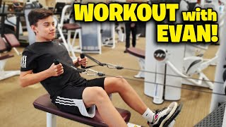 WORKOUT WITH EVAN!!! Top Tips for Beginner Weightlifters!
