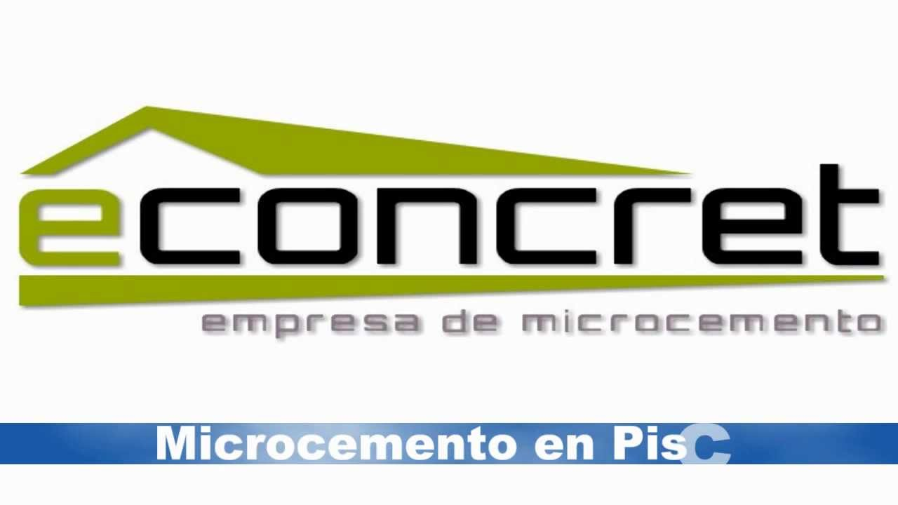 Econcret microcemento tratamiento en piscinas doovi for Microcemento en mexico