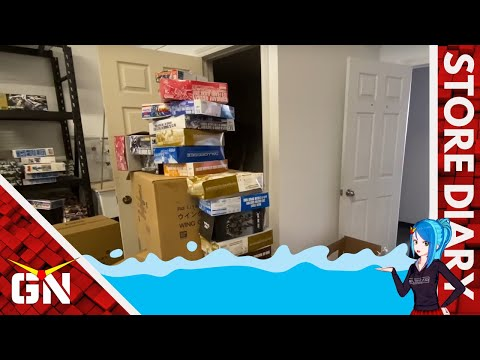 Why the Gundam Warehouse flooded…Crazy Story