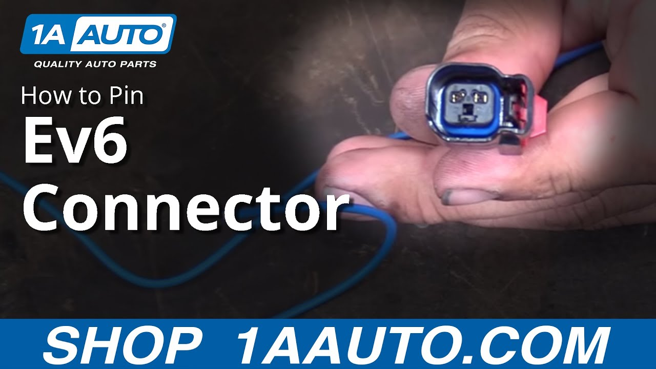How to Pin Ev6 Fuel Injector Connector