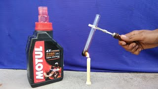 Engine oil test