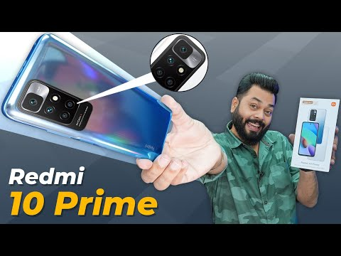 Redmi 10 Prime Unboxing & First Impressions ⚡ MediaTek Helio G88, 90Hz, 6000mAh & More