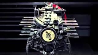 demontage moteur porsche