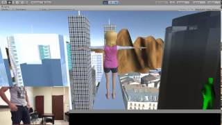 Sample Kinect motion on Unity VR Project