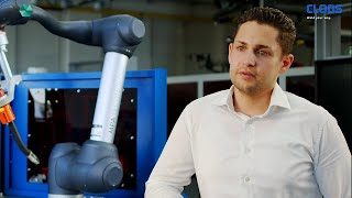 CLOOS - Cobot Welding System: Interview mit Marcel Burk, MPA Technology